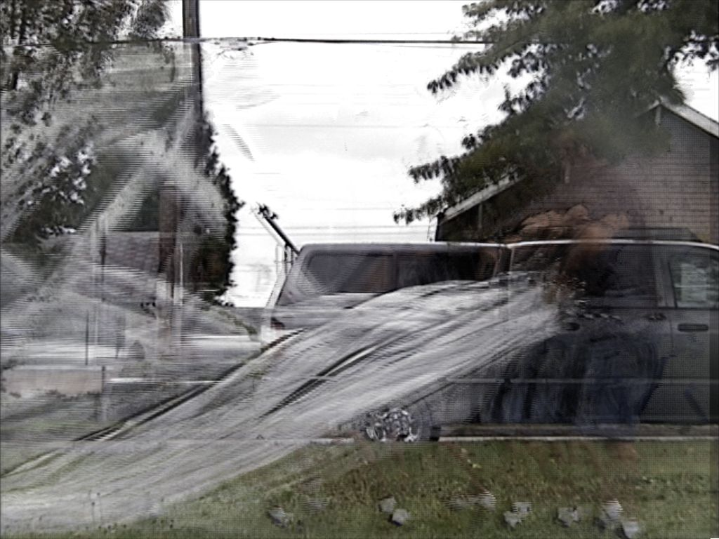 Man Rolling Plastic Wrap